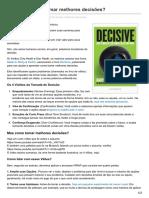 Blog.andrefaria.com-Decisive Como Tomar Melhores Decisões