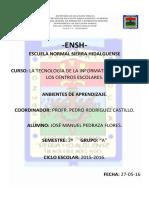 Ambiente de Aprendizaje. J.M 2º a PDF