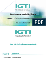 Aula Capítulo 1 - Definição e Fundamentos Do Big Data