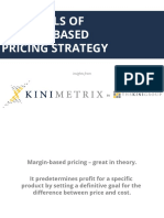 4 Evils of Margin-based Pricing