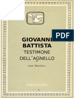 Giovanni Battista Testimone dell'Agnello