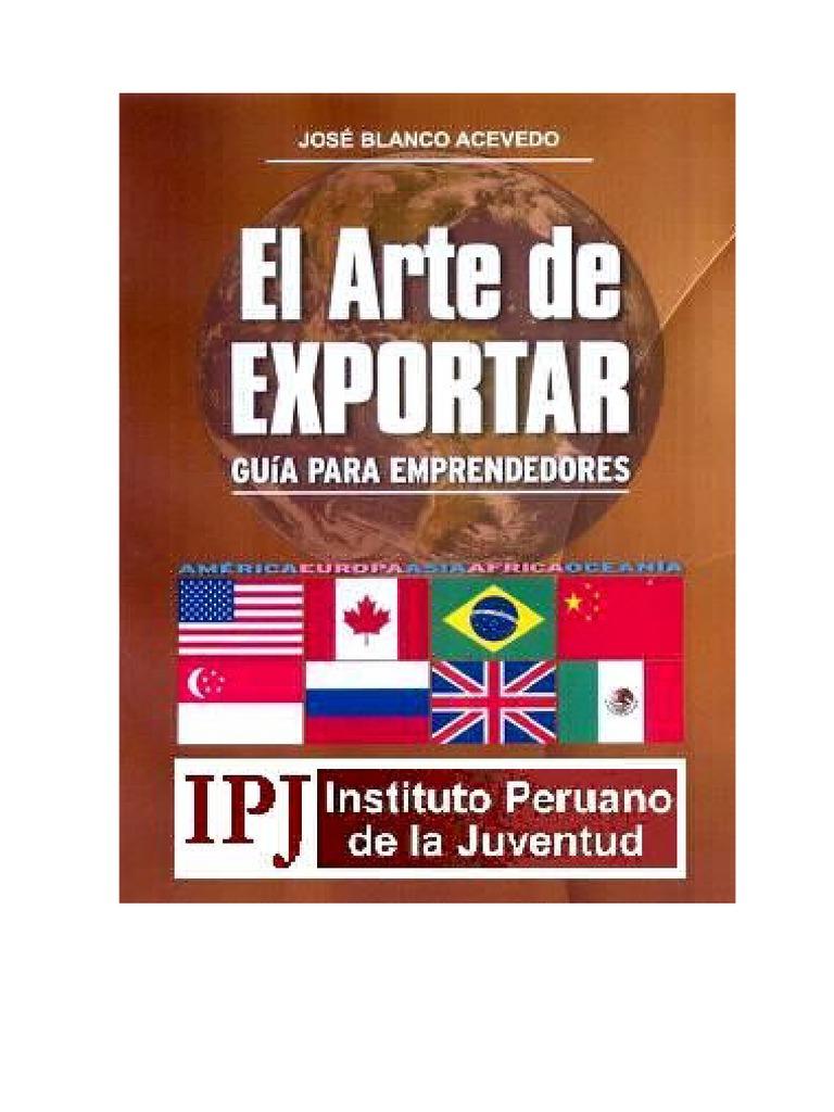f9492c5f Libro EL ARTE DE EXPORTAR Edicion Final (2).doc | Exportaciones | Balance de  pagos