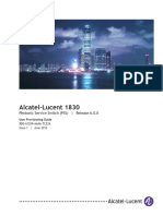 8DG61259AAAATCZZA V1 Alcatel-Lucent 1830 Photonic Service Switch (PSS) Release 6.0 User Provisioning Guide