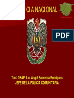 Bolivia Policia Nacional y Comunitaria