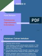 Polihidramnion Dan Oligohidramnion