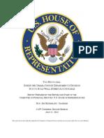 US HOUSE REPORT ON HSBC