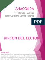 Rincones Literarios de Anaconda