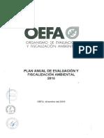 PLANEFA OEFA 2016