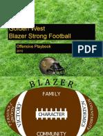 Golden West Offensive Playbook 2010-2011