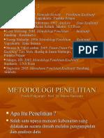 Utf-8 Metodologi Penelitian Kualitatif