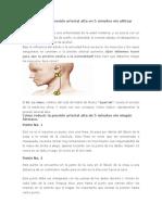 Cómo Reducir La Presión Arterial Alta en 5 Minutos Sin Utilizar Ningún Fármaco