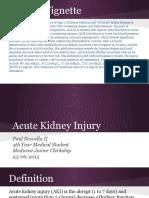 Acute Kidney Injury - Junior Medicine Clerkship