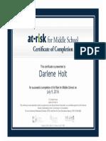 certificateofcompletion 105 darlene-holt
