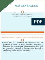 Programas General de Salud