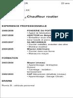 cv pour un poste de chauffeur routier.pdf