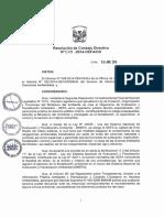 RCD 015-2014-OEFA - Reglas Para La Atención de Denuncias Ambientales Presentadas Ante El Organismo de Evaluación y Fiscalización Ambiental – OEFA