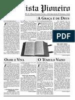 O Batista Pioneiro - Ano 1 - N.1 - Edição Trimestral
