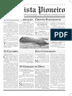 O Batista Pioneiro - Ano 1 - N.3 - Edição Trimestral