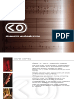 Cinematic Orchestration Brochure
