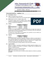 Reglamento Mecánico Karting CG-125cc 2016 FUK/SAC