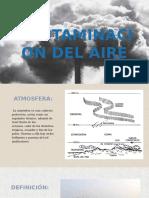 La Contaminacion Del Aire y Agua
