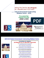 FEDERAL Govt Contracting - Life After 8a & Best Practices