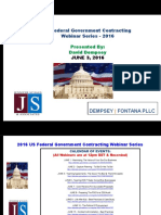 FEDERAL Govt Contracting - Teaming Agreements