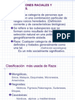 Relaciones Raciales y Etnicas.