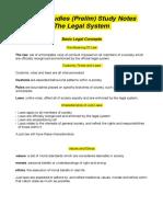 Legal Studies Notes (Prelim)