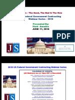 FEDERAL Govt Contracting - SBIR's