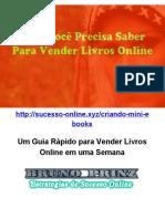 Um Guia Rápido Para Vender Livros Online Em Uma Semana