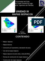 Unidad IV mapas isopcos