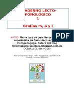 Cuaderno Lecto-fonológico LETRA M, P y L