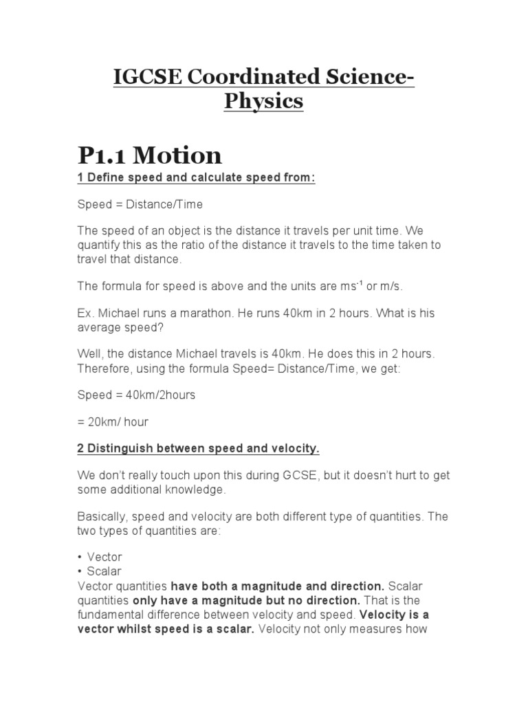 IGCSE Coordinated Science Review Notes-Physics (1)   Evaporation
