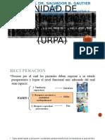 Unidad de Recuperación Posanestésica (Urpa)