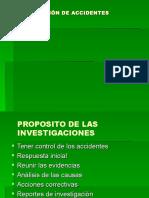 Investigación de Acc.