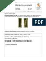 Informe Análisis Metalográfico y Microdurezas Tubos H-101