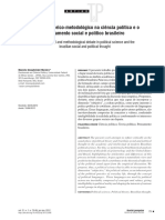 O debate teórico-metodológico na ciência política e o pensamento social e político brasileiro