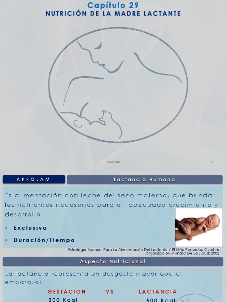 Manual de alimentacion del lactante y nino pequeno capitulo
