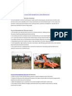 Two-row Self-propelled Corn Harvester
