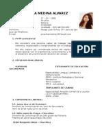 CV Priscilla Medina Alvarez