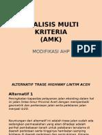 6-Analisis Multi Kriteria (Amk)