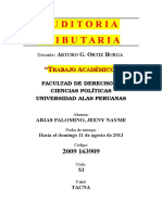 AUDITORIA TRIBUTARIA NAYME