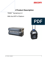 TEMS Symphony 6.1 - Technical Product Description2