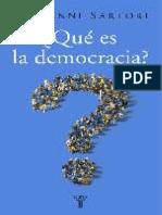 Sartori.giovammi. .Que.es.La.democracia