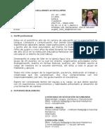 CV - Angela Acosta Lopez