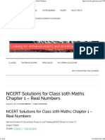NCERT Solutions for Class 10th Maths_ Chapter 1 - Real Numbers