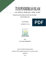 Lembaga Pendidikan Islam Era Awal Islam