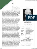 02.01 Jawaharlal Nehru - Wikipedia, The Free Encyclopedia