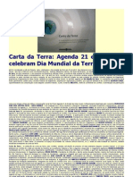 Carta Da Terra No Dia Da Terra 22 abril 2010